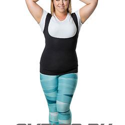 Майка-сауна для похудения (с вырезом) SV10