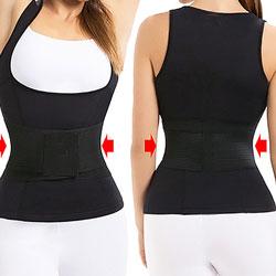 Эксклюзив! Майка-пояс (спортивная одежда для похудения) Body Trainer
