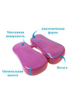 Антиварикозный тренажер от варикоза и геморроя + сидушка + корректор осанки (3 в 1)